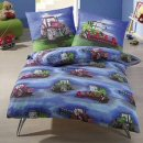 Anaterra - 2-Piece Bed Linen with Tractor