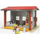Bruder 62621 - Cow Barn with Milking Machine
