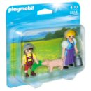 Playmobil 5514 - Country Farm Woman and Boy Duo Pack