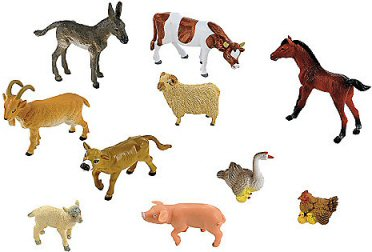 ELC big toy farm animals match their farm set range