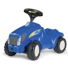 New Holland Mini Trac style ride-on tractor