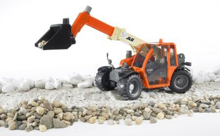 Take control of a toy telehandler